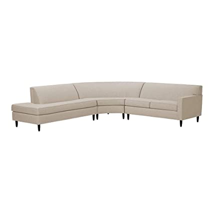 Amazon.com: Ethan Allen Marcus Three Piece Sectional, Left ...