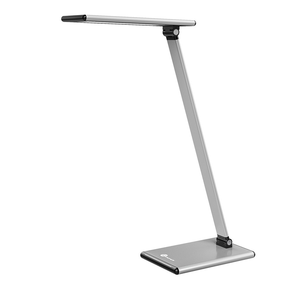 TaoTronics Eye-care Desk Lamp, Fully Touch Table Lamps with Adjustable Color Temperature and Brightness Level, Metal
