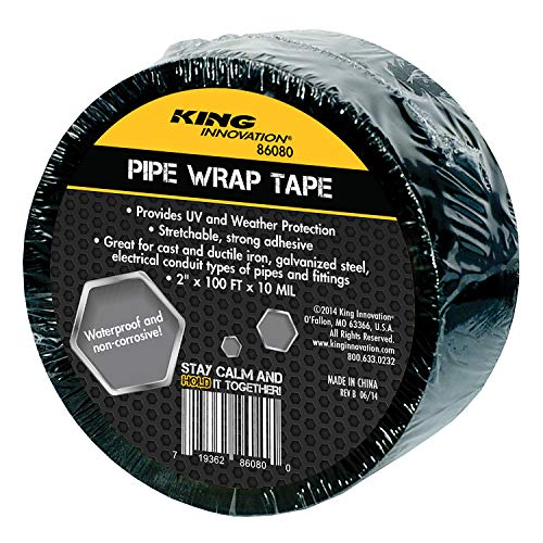 KING INNOVATION 86080 Corrosion Protection Pipe Wrap Tape, -