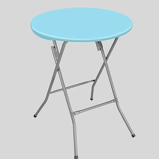 YZjk Mesa Plegable de plástico, Mesa de Comedor pequeña, Mesa ...