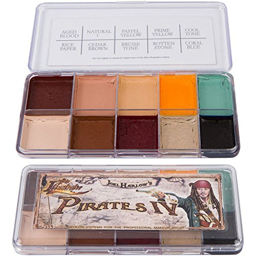 Skin Illustrator Joel Harlow's Pirates IV Professional Alcohol Activated Makeup Palette -