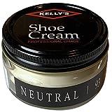 Kelly's Shoe Cream - Professional Shoe Polish - 1.5 oz - Neutral