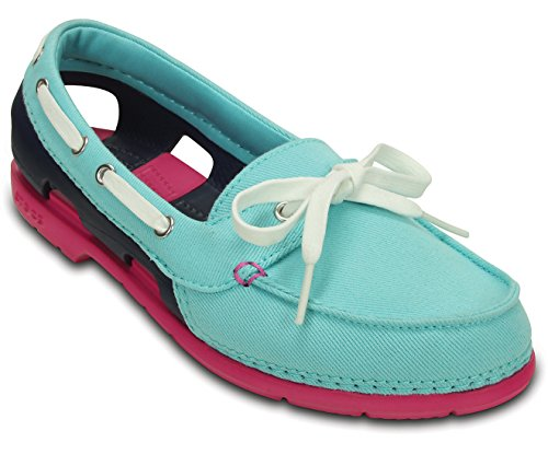 Mocassins Pool Violet Pour Navy Femme Crocs Nautical TdwRx81Tq
