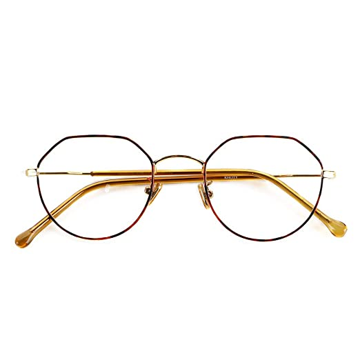 90308377bc91 Amazon.com  M60063 Made In China Eyeglasses Frame (C17 RedGrain ...