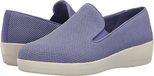 FitFlop Women's Uberknit Slip-On Skate Dusted Peri/Urban ...