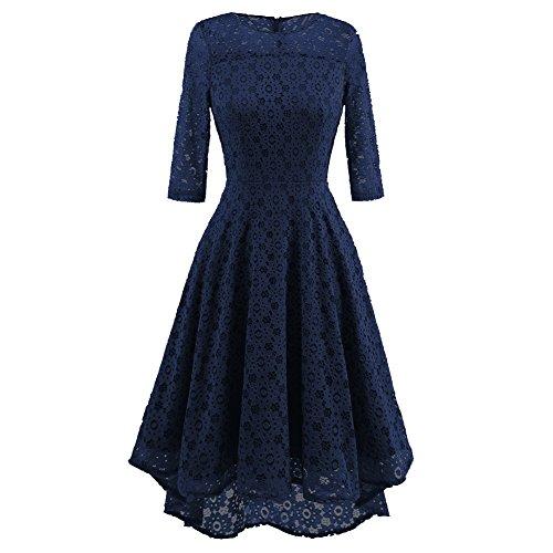 blue grecian dress - 7