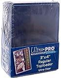 """Ultra Pro - Protèges Cartes - Toploader Transparent Regular Ultra Clear 3""""x4"""" Par 25"""