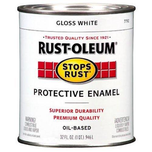 Rust-Oleum 7792504 Protective Enamel Paint Stops Rust