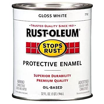 Rust Oleum 7792504 Protective Enamel Paint Stops Rust 32 Ounce