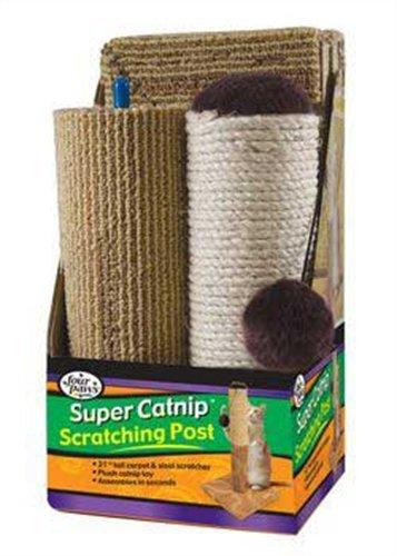 3 Piece Cat Scratcher 21″ Sisal/Carpet, My Pet Supplies