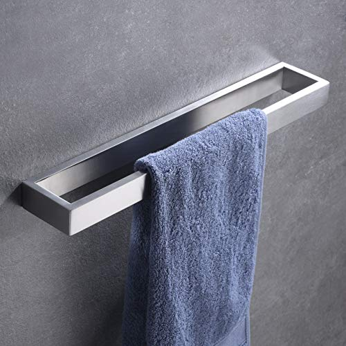 - Hoooh Hand Towel Holder for Bathroom, 15-3/4 Inch Brushed Stainless Steel Kitchen Towel Bar Wall Mounted, D110L40-BN