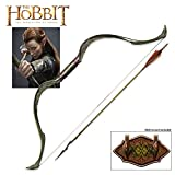United Cutlery UC3031 'The Hobbit' Elven Bow and Arrow of Tauriel