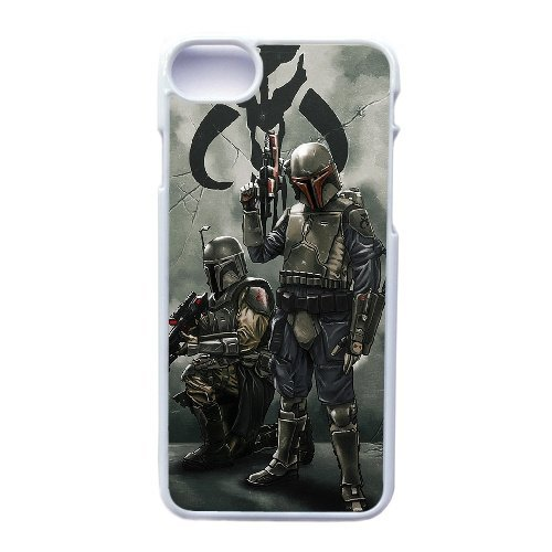 Coque,Apple Coque iphone 7 (4.7 pouce) Case, Star Wars Mandalorian Armor Phone Case for Apple Coque iphone 7 (4.7 pouce) blanc Plastic Ultra Slim Cover Case GHST1127031,Cas De Téléphone