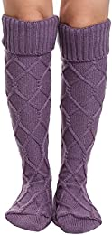 Amazon.com: Purple - Over-the-Knee / Boots: Clothing Shoes &amp Jewelry