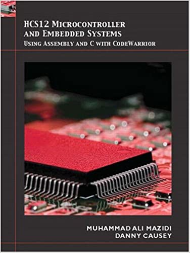 Book HCS12 Microcontrollers and Embedded Systems