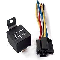 529-NEW-RELAY-5-PIN-100-AMP-12V-CAR-AUTOMOTIVE-TRUCK-ALARM-BULB-SET-5-FIVE-PCS
