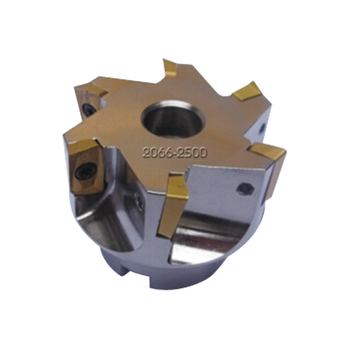 HHIP 2066-2500 2-1/2'' x 3/4'' Bore 90 Degree APKT-160408 Index able Face Mill, 6 Teeth