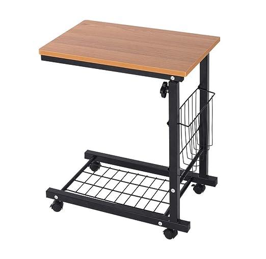 KK-TABLE Mesa para computadora portátil, Ajustable en Altura, con ...