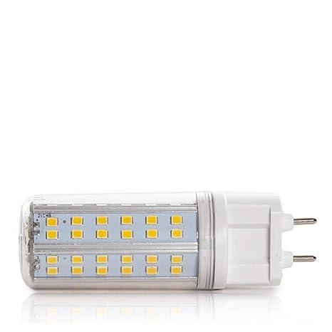 Greenice | Bombilla de LEDs G12 SMD2835 10W 1050Lm 30.000H | Blanco Cálido