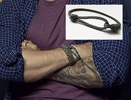 Single loop ParaCord - Tom Hardy Style - Adjustable (Toms Cords)