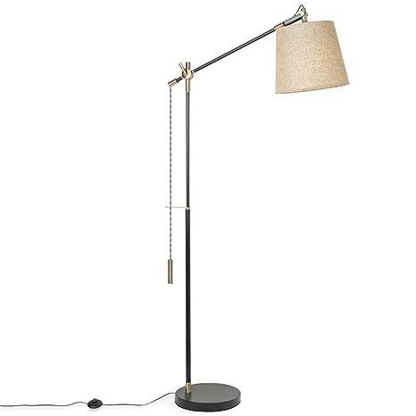 H&M Lámparas de pie Moderna Simplicidad contemporánea Lino ...