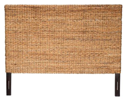 Jeffan International Abaca Weave Headboard, King by Jeffan International