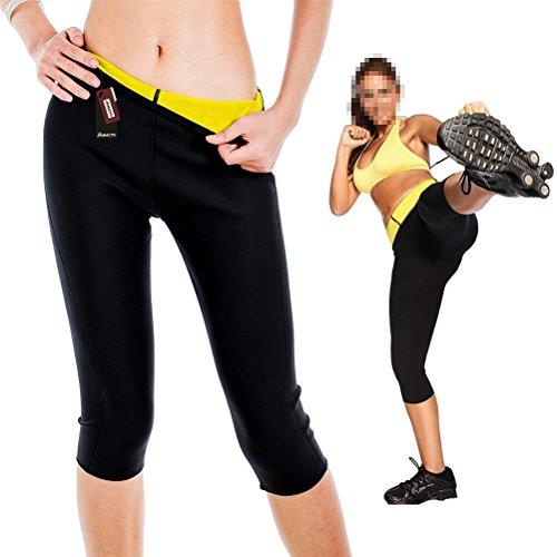 Hot Shapers Weight Loss Slimming Yoga Sports Short Pants, HAMACTIV Diving Material...