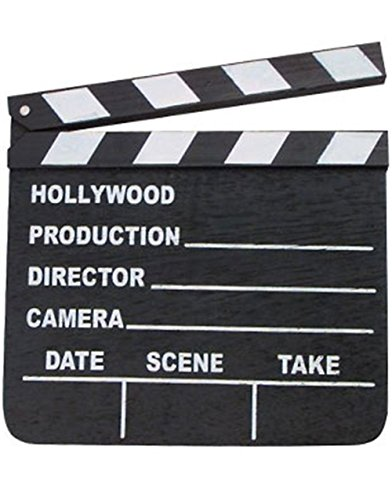 [Hollywood Clapper Board Costume Accessory] (Hollywood Film Fancy Dress Costumes)