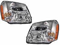 Chevy Equinox New Chrome Headlights Set Headlamps Pair