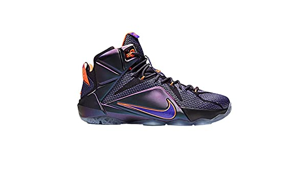 867ead64058 Amazon.com  LEBRON 12  INSTINCT  - 684593-583 - Cave Purple Hyper  Grape-Hyper Crimson-Hyper Turquoise (11)  Shoes
