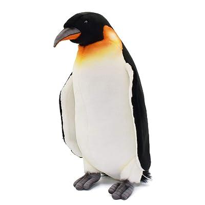 "HANSA 14.6"" Emperor Penguin Plush: Toys & Games"