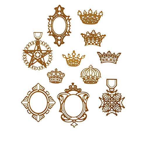 Anna Griffin Crown Cut & Embossing Dies Anna Griffin Die Cut