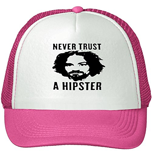 unisex-charles-milles-manson-adjustable-cap-one-size-pink