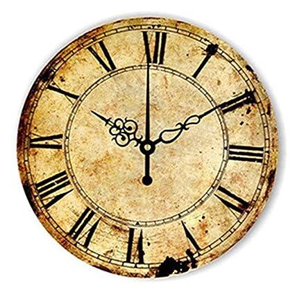 WXIN 14 Pulgadas Grande Circular Reloj De Pared De La Cocina Moderna Decoración del Hogar Grandes