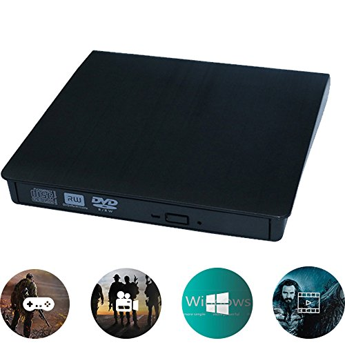 AIDOUT CD Drive, USB 3.0 Ultra Slim External CD DVD RW / DVD