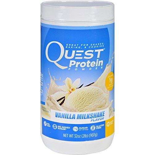 Quest Protein Powder - Vanilla Milkshake - 2 lb