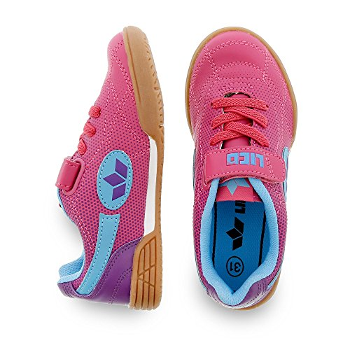 LicoBernie VS - Zapatillas Deportivas para Interior Niñas - Pink/Lila