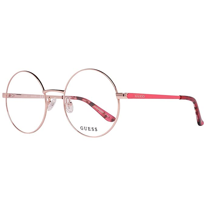 Guess Gu2682 028 52 Monturas de Gafas, Dorado (Oro Rosa ...