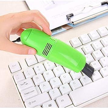 Mini PC Aspirador USB Keyboard Cleaner PC Laptop Brush Kit de Limpieza de Polvo Aspiradora Computer Clean Tools: Amazon.es: Electrónica