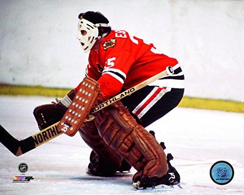 Tony Esposito Chicago Blackhawks NHL Action Photo (Size: 8