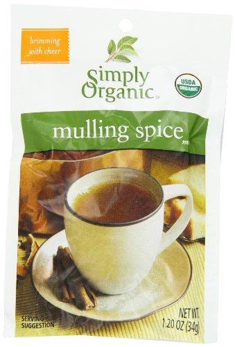 Simply Organic Mulling Spice, 1.20-Ounce Pouch (Pack of 8)