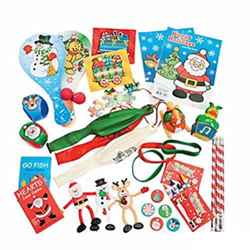 50 CHRISTMAS STOCKING STUFFER TOYS ,GIFTS, FAVORS ASSORTMENT GAMES THEY LOVE NEW