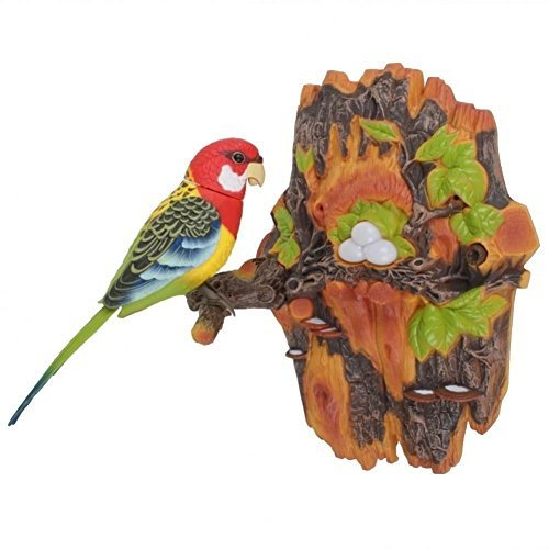 Velocity Toys Chirping & Dancing Bird- Color Vary - Motion Sensor (Birds Best Singing)