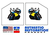 Mopar Scat Pack Window Bees Decals Dodge Challenger Charger Dart Demon by Southern Car Parts