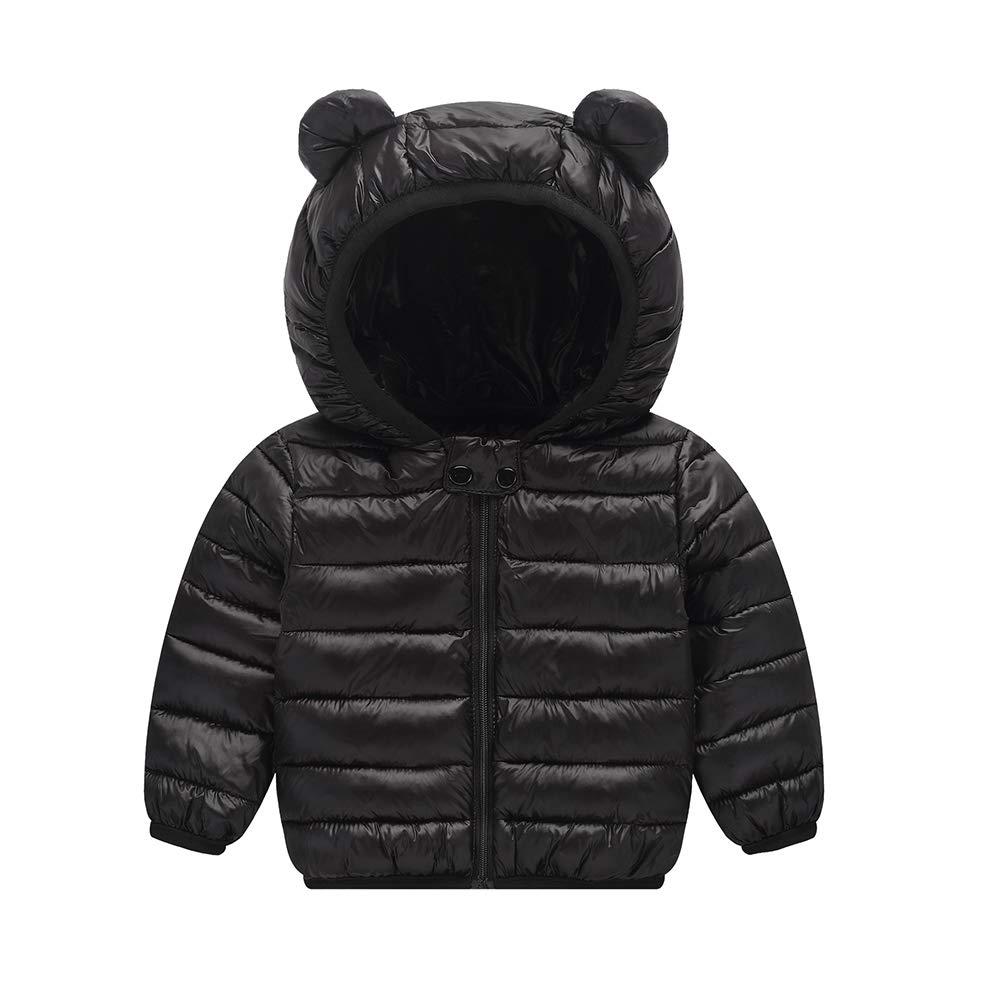 Aden Ragazzi Ragazze Inverno Cappotti Piumino Bambino Giacche di piuma Leggero Giubbotti con Cappuccio