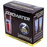 ZeroWater Portable Replacement Filter (ZT-230C) - 2 Pack - Blue