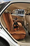 VIEWPETS Big Water Repellant Box Quilted Car Seat Protector Heavy Micro Suede Polyester Microfiber Soft All Coverage Dog Car Bench Seat Cover for Pets Review