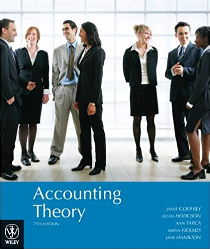 accounting theory godfrey 7th edition answers
