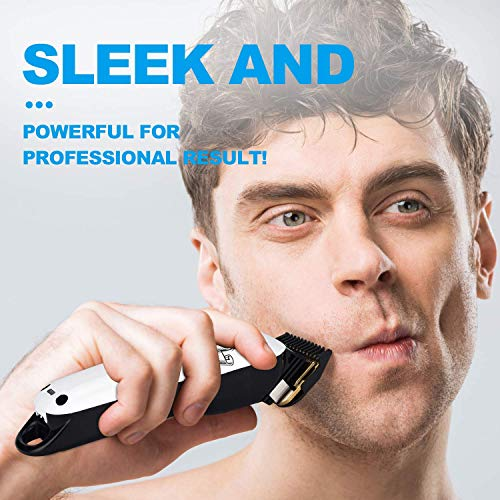Cosyonall Upgraded Professional Cordless Electric Hair Clippers for Men Rechargeable Grooming Cutter Kit Low Noise Hair Cutting Machine for Men Kids Baby Barber