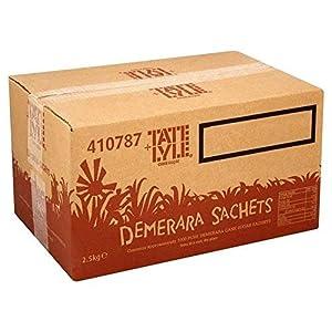 Tate & Lyle Bustine Di Zucchero Demerara 1000 Al Pacchetto